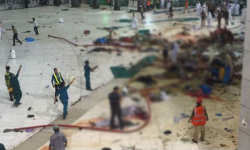 Bin Laden Group declared held for Makkah crane crash