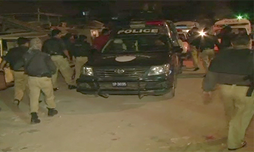 Terrorists, political party activists among seven nabbed in Karachi
