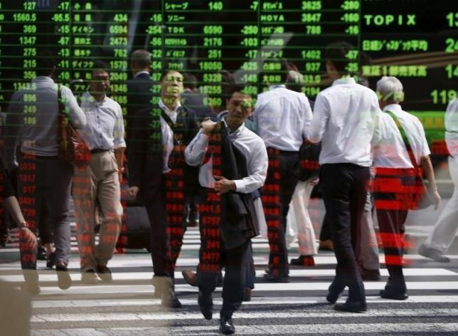 Asia shares gain with Japan at the lead, risk appetite lifts dollar