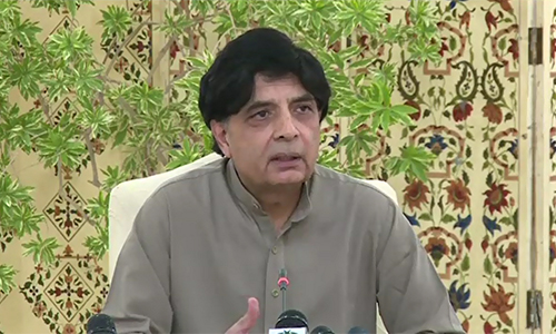 Troubles of overseas Pakistanis to increase amid Paris terrorist attacks, says Chaudhry Nisar