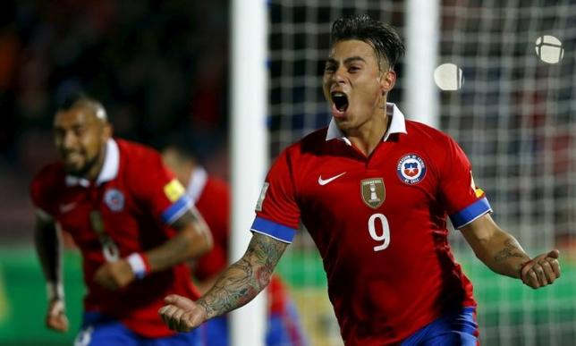 Chile beat Brazil 2-0 in opening World Cup qualifier