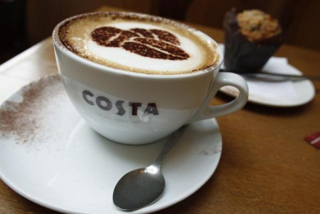 Costa Coffee owner Whitbread posts higher profit