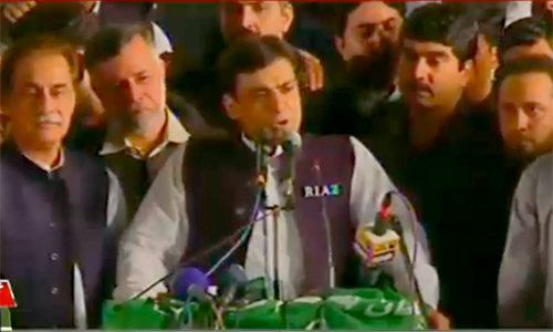 Imran Khan got Chinese president's visit cancelled through a conspiracy, says Hamza Shahbaz