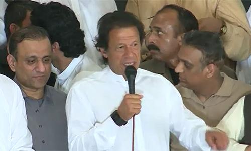 Govt killing people economically, says PTI chairman Imran Khan