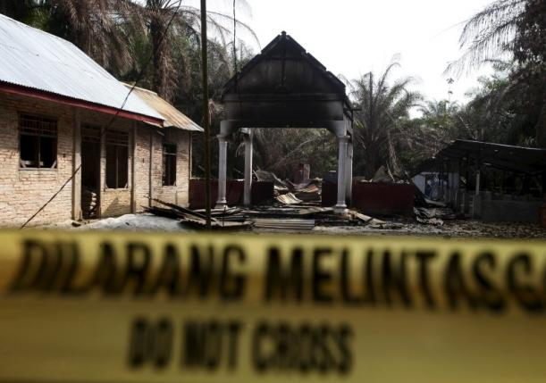 Indonesia's Aceh province tears down churches after religious violence