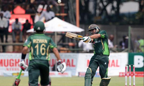 Pakistan cruise home as Yasir's spin sinks Zimbabwe in first one-dayer