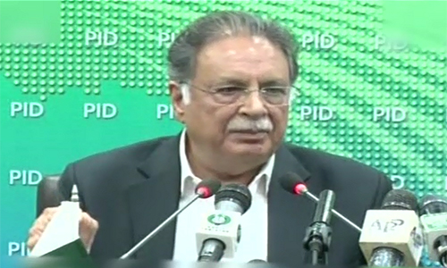 Imran Khan is founding father of offshore companies in Pakistan: Pervaiz Rashid