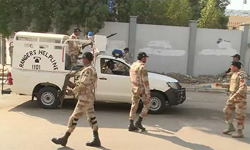 Banned outfit workers, target killers among 30 detained in Karachi
