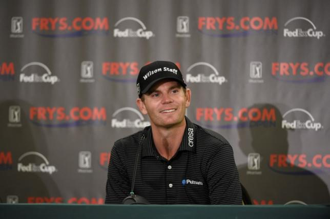 Steele leads at PGA Tour opener, Rose in the hunt