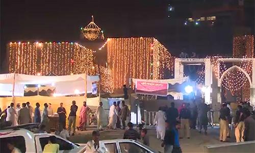 Hundreds of devotees pay homage to Hazrat Abdullah Shah Ghazi on second day of Urs