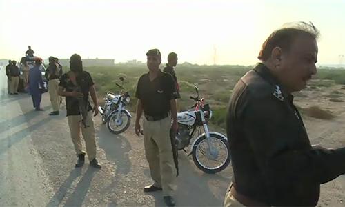 Eight terrorists killed, SHO injured in Manghu Pir encounter