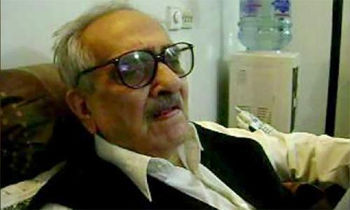 Renowned poet & columnist Jamiluddin Aali passes away