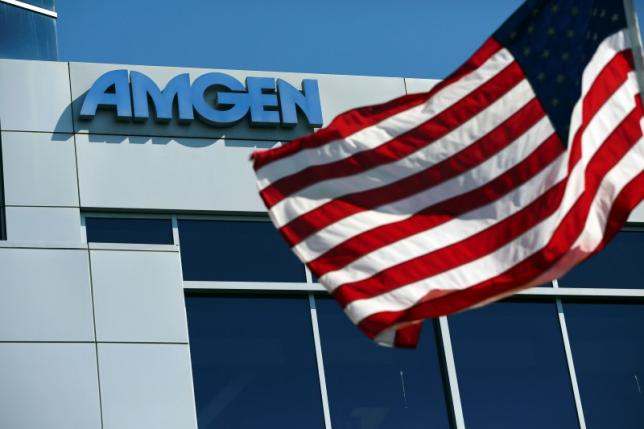 Amgen files for US approval of biosimilar to Humira