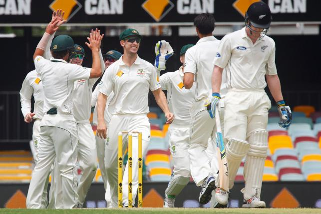 Australia wrap up victory after McCullum defiance