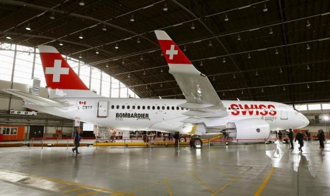 Bombardier says nearly 100 percent done with flight testing of CSeries FTV-5