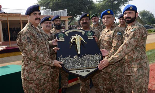 Achievements in war on terror clear proof of our jawans' professional competence: COAS Raheel Sharif