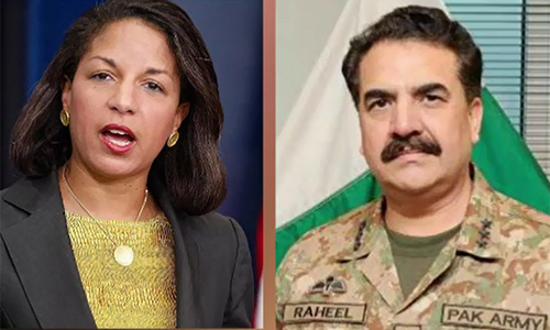 COAS General Raheel Sharif visits White House, calls on Adviser to US President Susan Rice