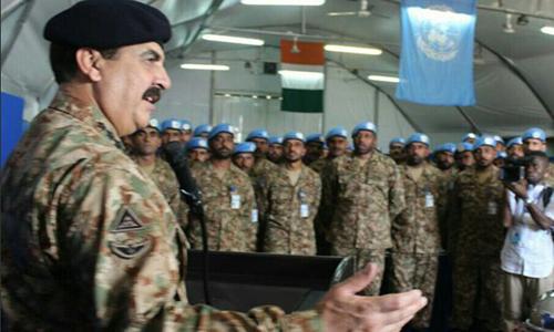 Pakistan ready to meet emerging challenges, says COAS General Raheel Sharif