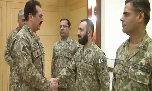 COAS Raheel Sharif lauds Pak Army team winning gold medal in Cambrian Patrol exercise in Britain