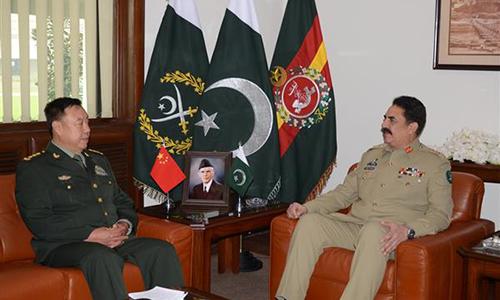 Chinese Central Military Commission vice-chairman calls on PM Nawaz Sharif, COAS General Raheel Sharif