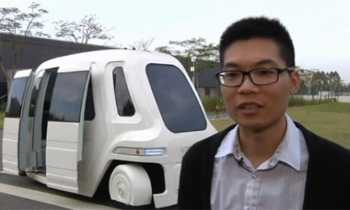 Driverless cars 'the future' of China housing estate