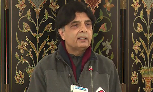 New policy on madrassa reforms to be announced soon, says Chaudhry Nisar