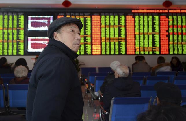 China stocks hit hard, rest of world shrugs