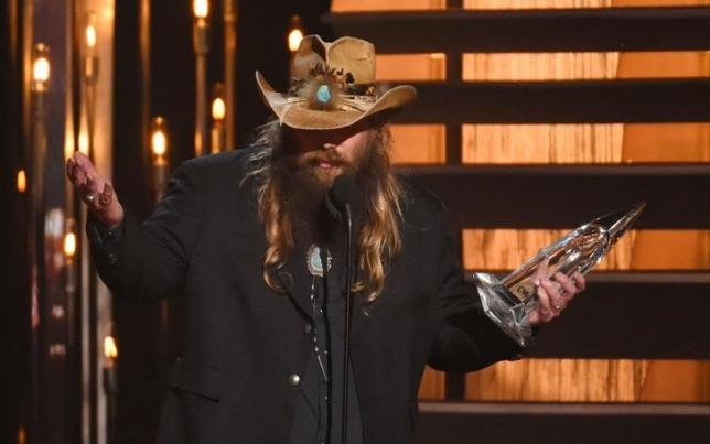 Chris Stapleton tops Billboard after Country Music awards win