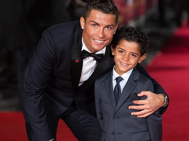 Cristiano Ronaldo premieres his film in London