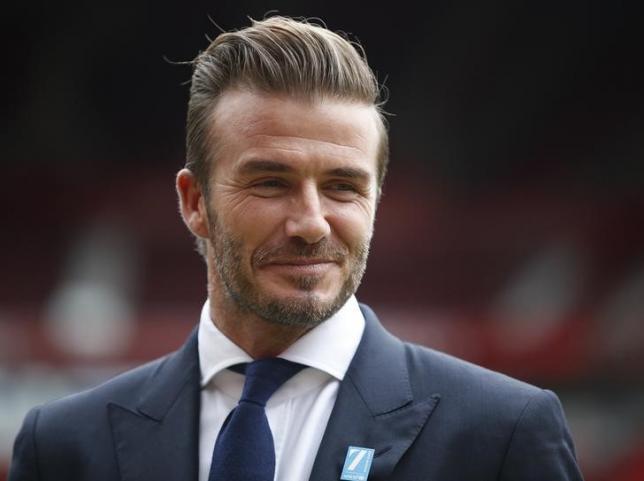 David Beckham named People magazine's 'Sexiest Man Alive'