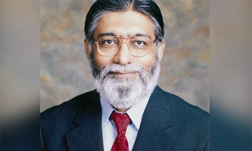 Sindh governor appoints controversial Dr Masood as Dow University VC