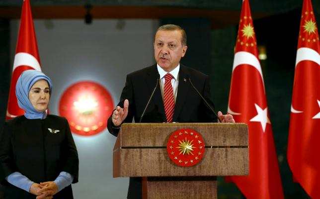 Turkey's Erdogan says does not want escalation after Russian jet downed