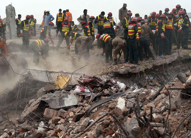 Lahore factory collapse case: Police detains two draftsmen
