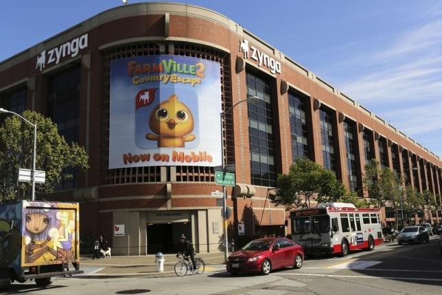 """Farmville"" creator Zynga's CFO steps down"