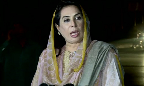Former speaker Fehmida Mirza asks federal government to provide her & her family security