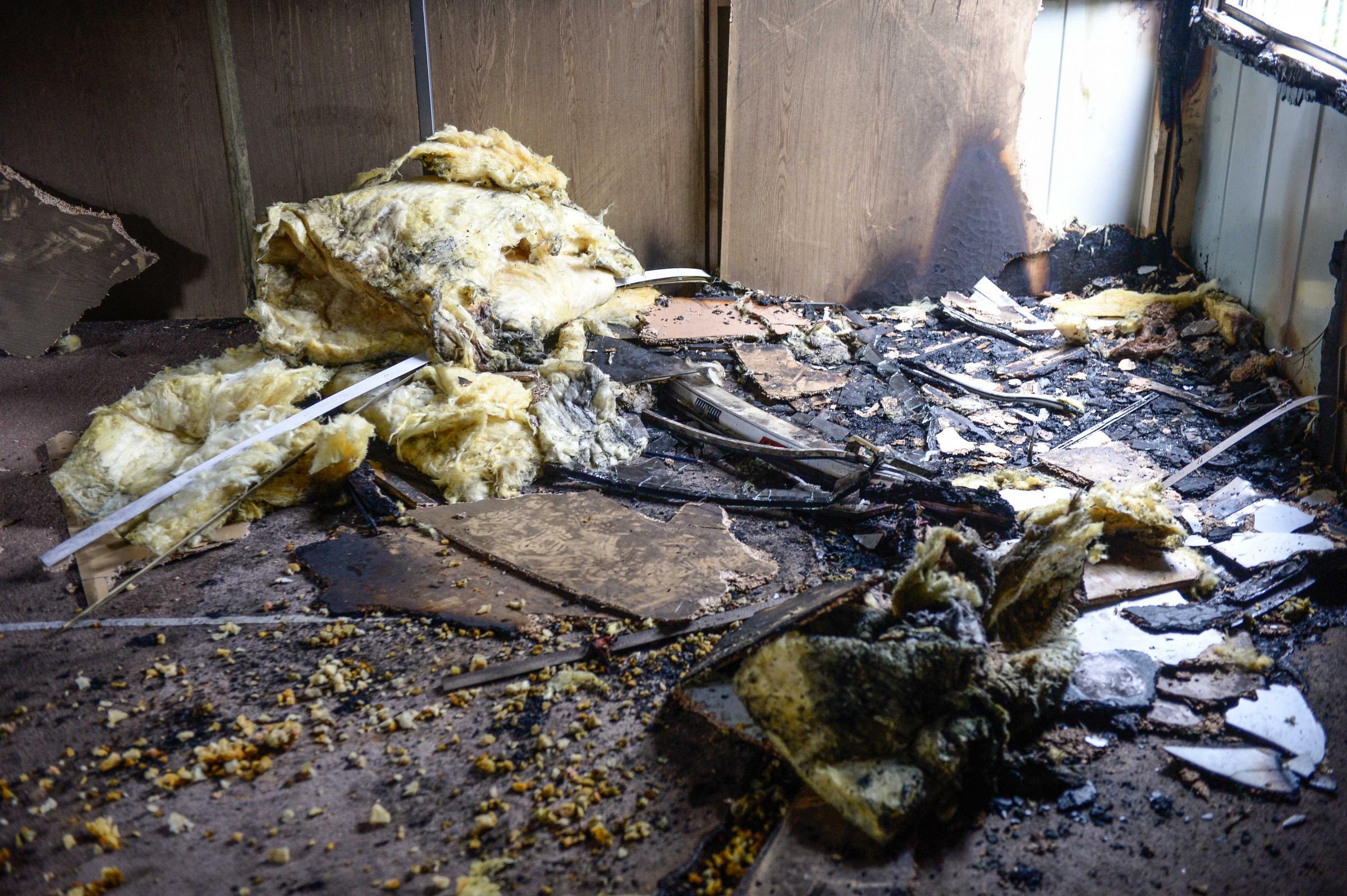 Muslim community center in Glasgow firebombed