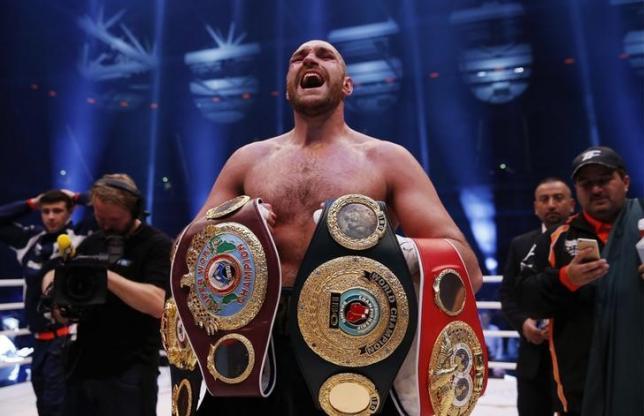 Briton Fury crowned world champion after beating Klitschko