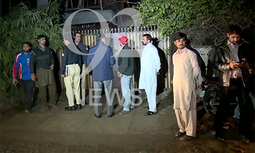 Electrician dies in roof collapse in Lahore's Garden Town area
