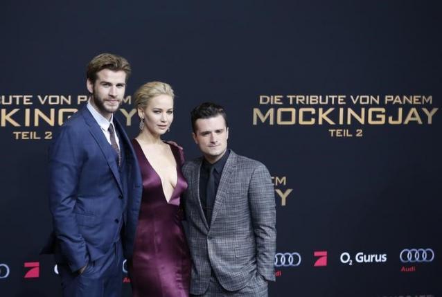 'Hunger Games' stars begin their goodbyes in Berlin