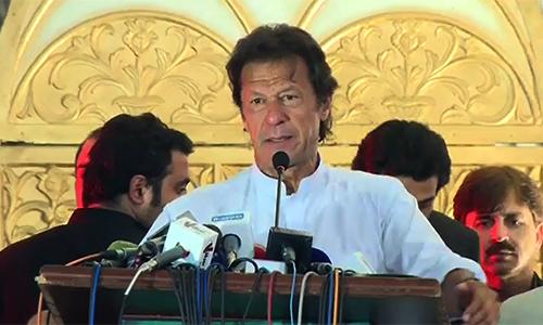 Imran Khan says Mahatma Gandhi, Ghaffar Khan & Abul Kalam Azad were great leaders