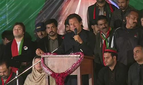We want Pakistan envisioned by Quaid-e-Azam & Allama Iqbal, says Imran Khan