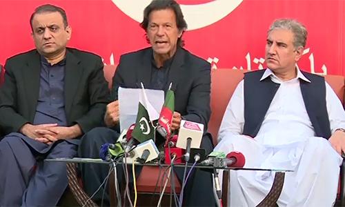 PTI chairman Imran Khan apologizes to Peshawar-based journalist