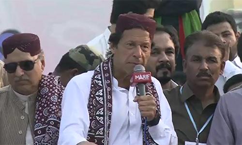 I will get people rid of fake rulers, says PTI chairman Imran Khan