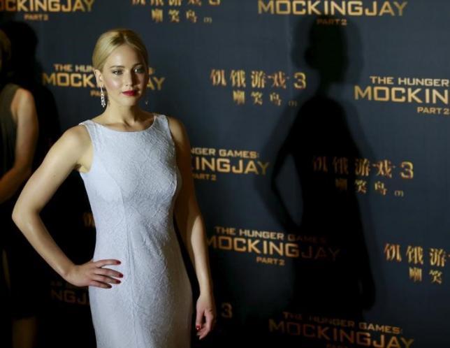 After Katniss, Jennifer Lawrence finds her voice