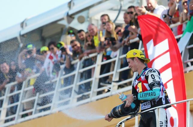 Kent becomes first British GP champion since Sheene