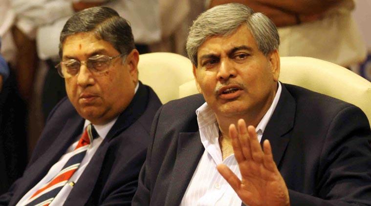 BCCI sacks Srinivasan as ICC chairman, Shashank Manohar to take over
