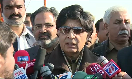 Karachi operation yielding good results, says Interior Minister Ch Nisar