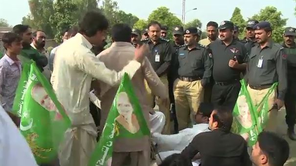 Local Bodies' Election: PML-N activists hold protest against unjustified distribution of tickets