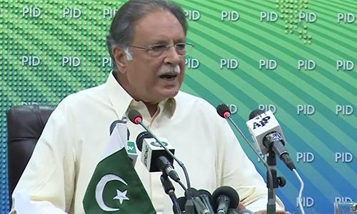 Imran Khan should respect law as he is a big leader, says Pervaiz Rashid