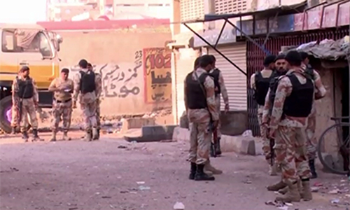Eight dangerous gangsters arrested in Rangers operation